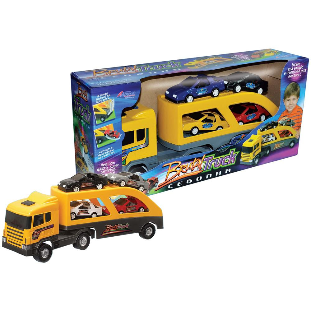 Caminhão Coleção  Brutal Truck Cegonha- Apolo