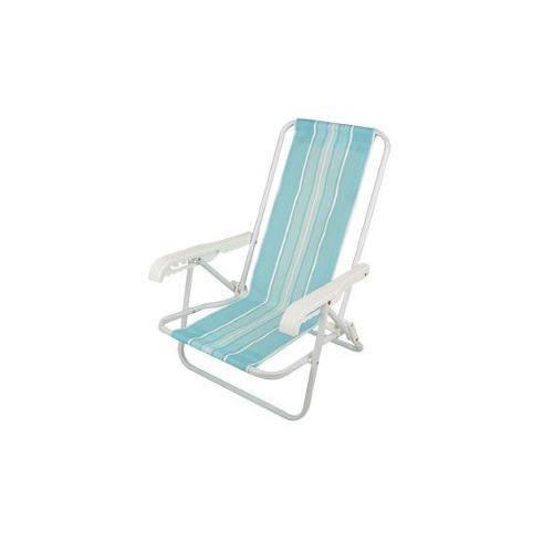 Cadeira 4 posições Infantil Aço Azul  - MOR