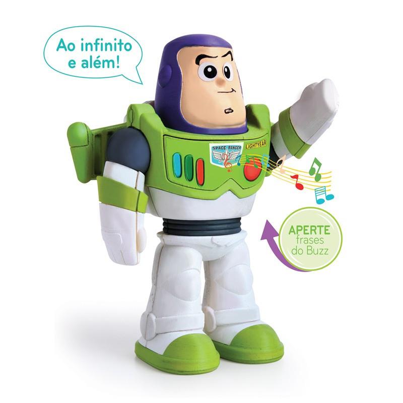 Boneco Meu Amigo Buzz Lightyear - Elka