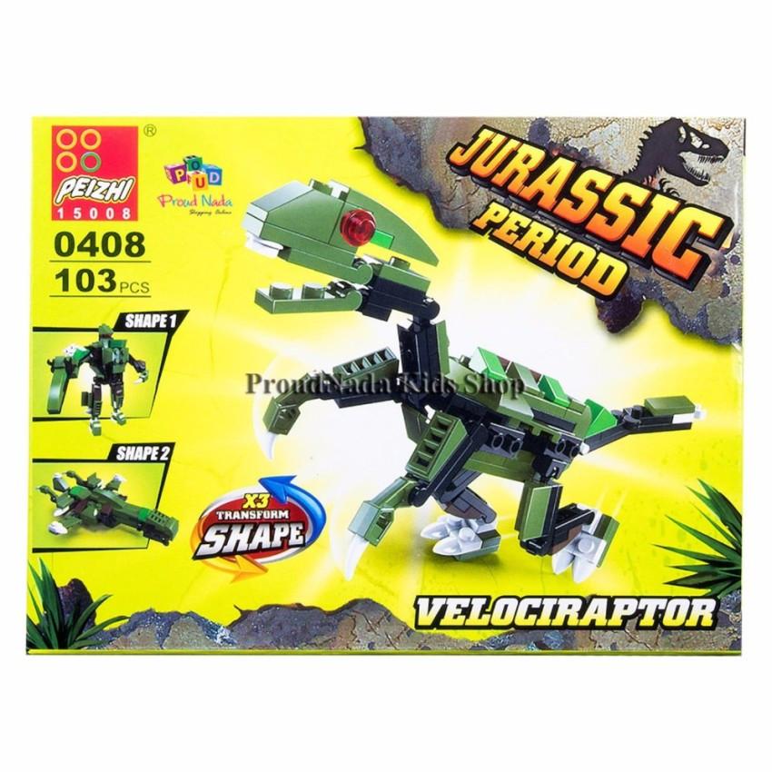 Jogo Jurassic Period  Dinossauro  Velociraptor - Peizhi
