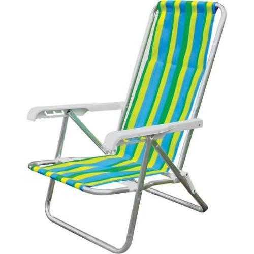 Cadeira 4 Posições Alumínio