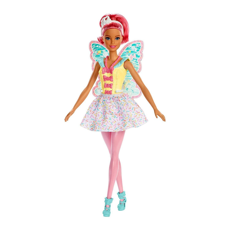 Boneca Barbie Fadas Cabelos Rosa GJJ98/Fxt03 - Mattel