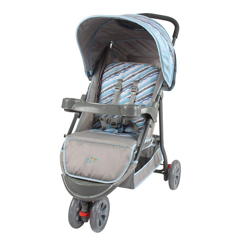 Carrinho de Bebê Junne Azul - Baby Style