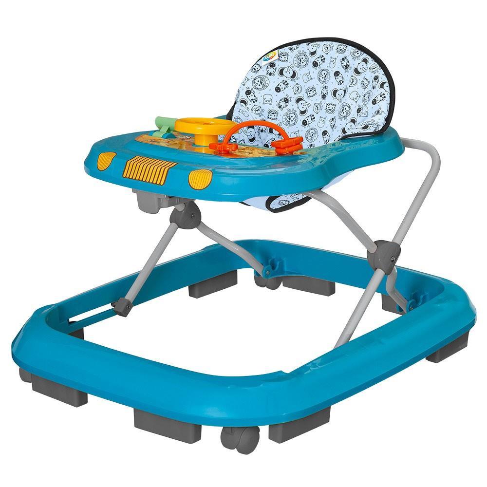 Andador Toy Azul Safari - Tutti Baby