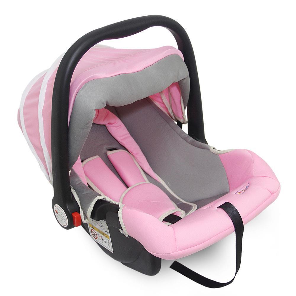 Bebê Conforto Com Redutor Interno e Absorção de Impactos Rosa 0- 13kgs  - Baby Style