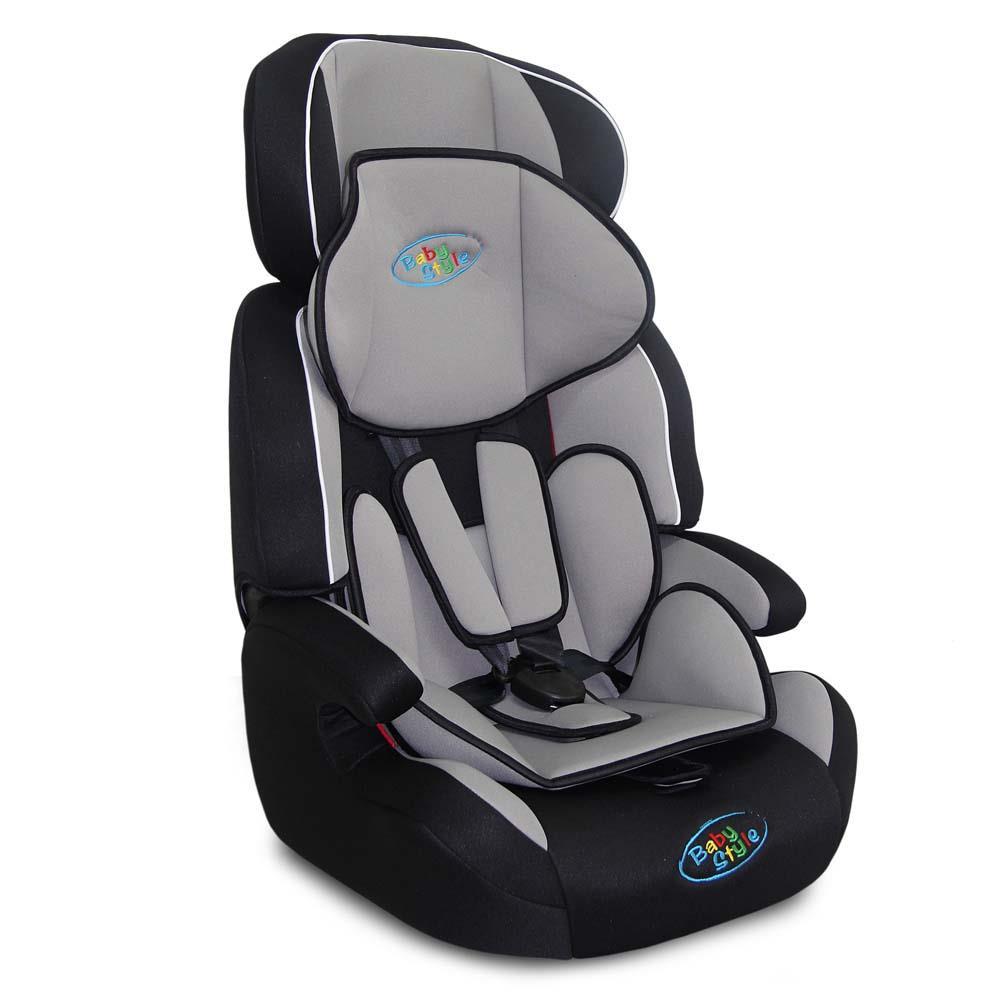 Cadeira Para Auto Cometa 9-36 kgs Cinza   - Baby Style