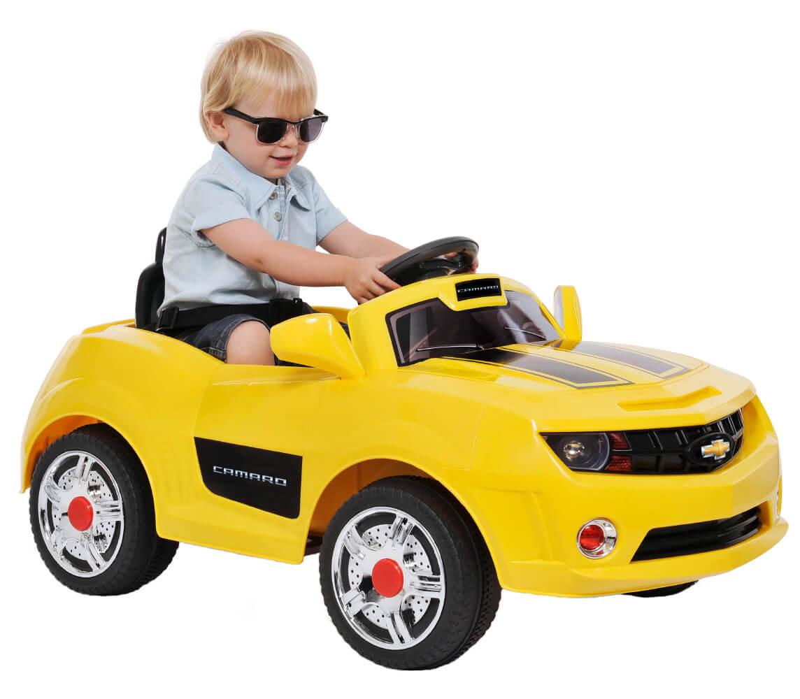 Camaro Amarelo R/C - EL 6V - Bandeirante