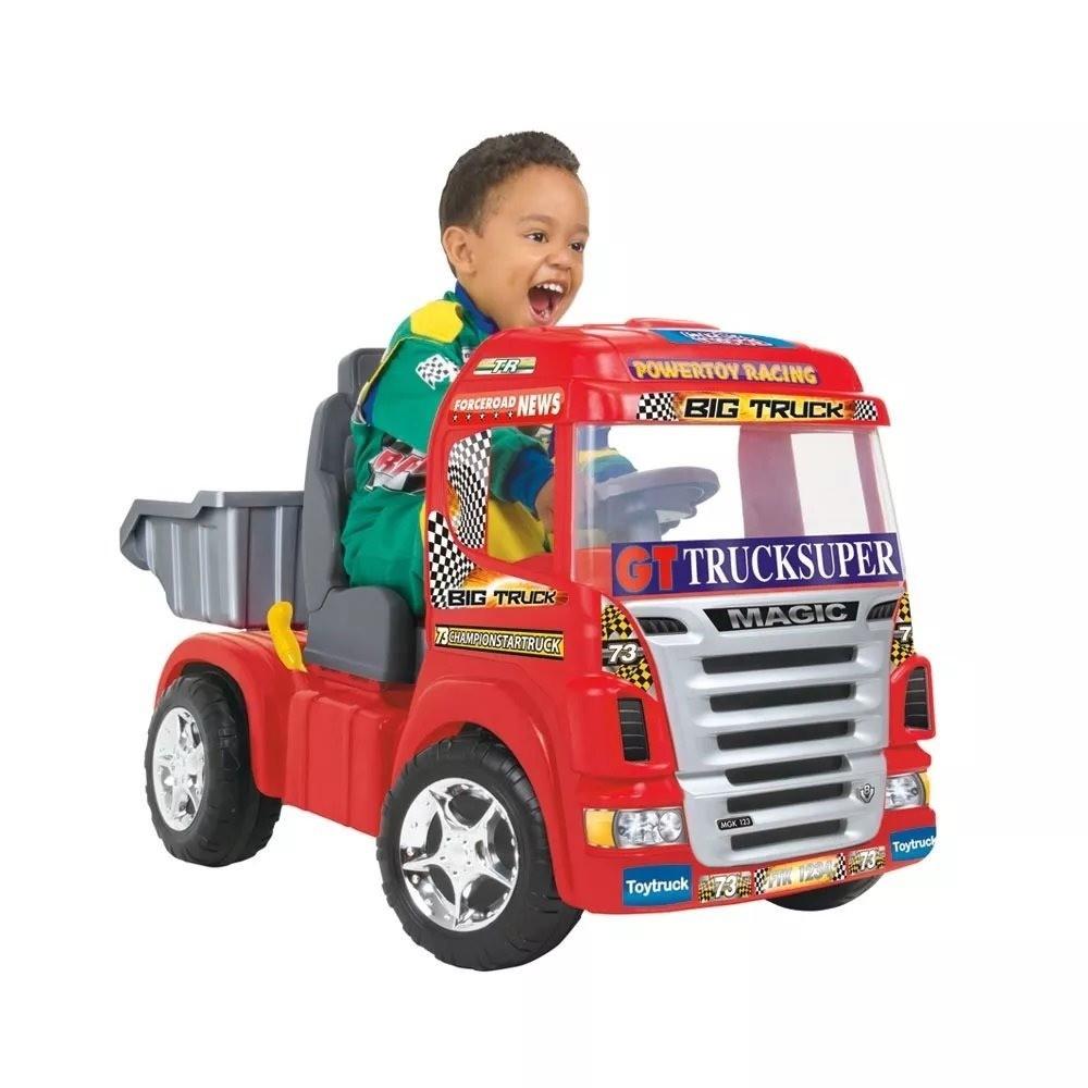 Big Truck Vermelho Magic Toys