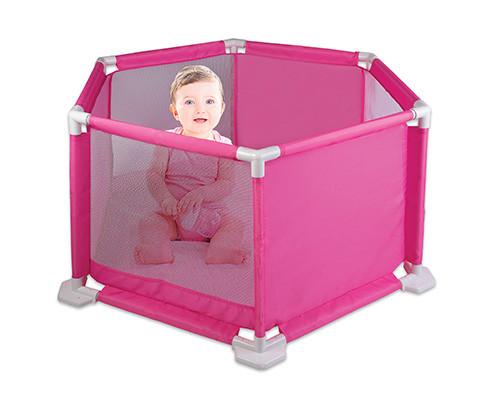 Cercado para Bebê Rosa - 950-4 Braskit