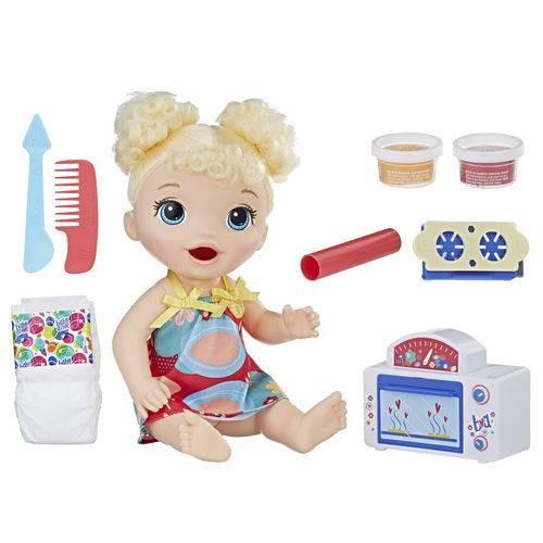 Baby Alive 1º Forninho Loira - Hasbro