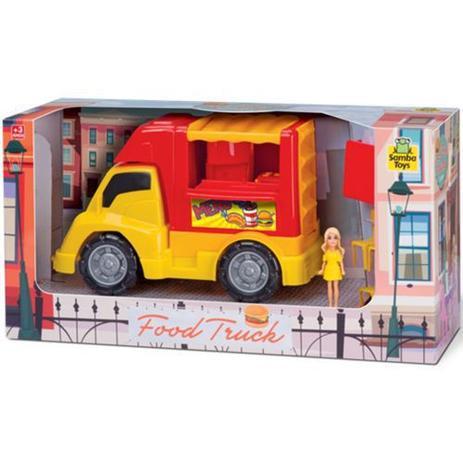 Food Truck Hamburguer - Samba Toys 120