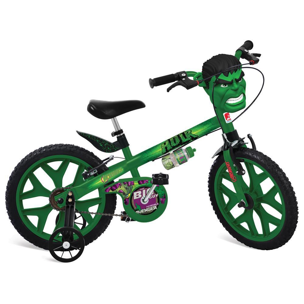 Bicicleta  Aro 16 do Hulk - BANDEIRANTE