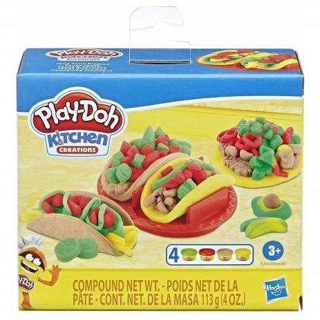 Massinha Play Doh Kitchen Creations Comidinha Mexicana E6686 - Hasbro