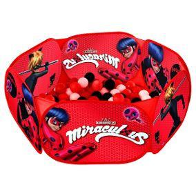 Piscina de Bolinhas Miraculous Ladybug C/100 Bolinhas - Zippy Toys