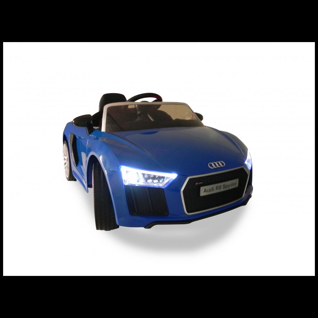 Carro Elétrico Com Controle Super 6v Audi R8 Azul - Xalingo