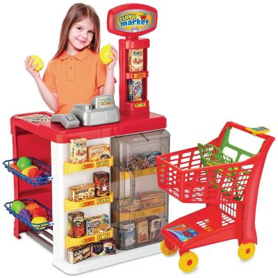 Super Market Mercadinho Mercado 8039 -  Magic Toys