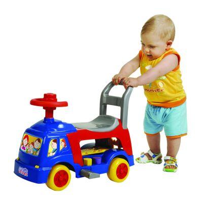 Andador 4 Em 1 Azul 1005C - Magic Toys