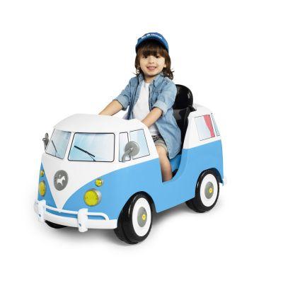 Carrinho De Passeio E Pedal A Kombina Azul - 1029 Calesita