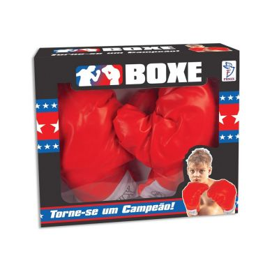 Luva De Boxe Infantil Vermelho Bx-177 - Fênix