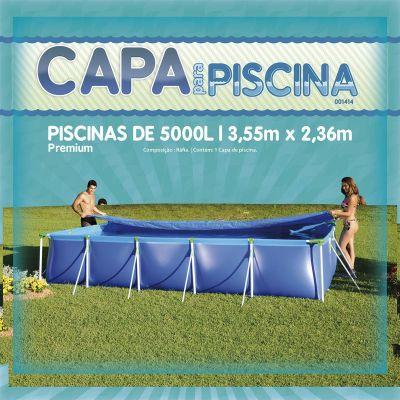Capa Para Piscina 5000 LTS Premium MOR