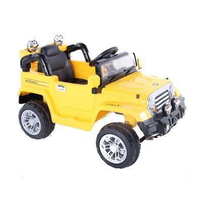 Jipe Elétrico Trilha Amarelo Com Controle Remoto 12v - BEL BRINK
