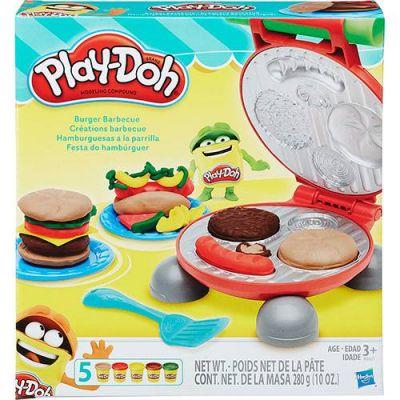 Conjunto Play-Doh Festa do Hambúrguer