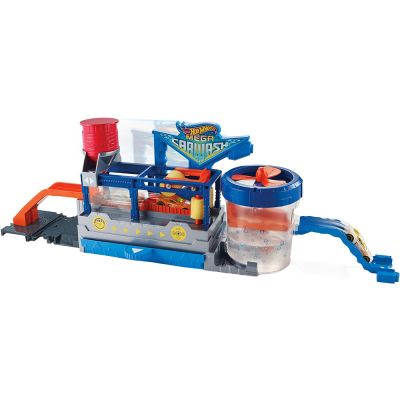 Hot Wheels Mega Lava Rápido FTB66 - Mattel.