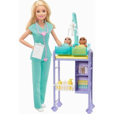 Boneca Barbie Pediatra Loira - DHB63 / GKH23 -Mattel