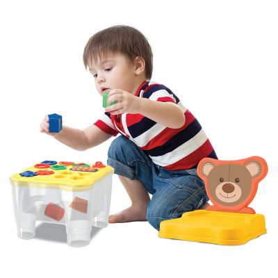 Urso Cadeirinha Didática - Samba Toys