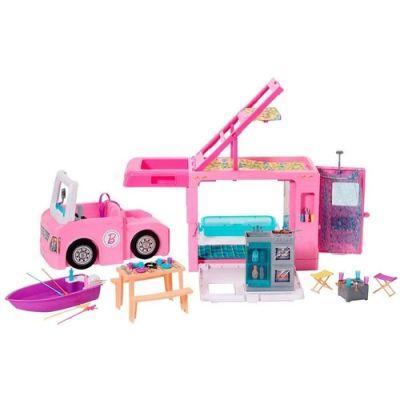 Veículo e Boneca Barbie - Trailer dos Sonhos 3 em 1 - Mattel