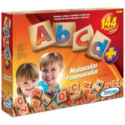 Jogo Abc Com 144 Peças - Xalingo