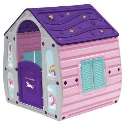 Casinha de Brinquedo Unicornio Infantil Portatil Bel Brink - Rosa 560000