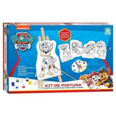 Kit de Pintura Patrulha Canina Nig Brinquedos