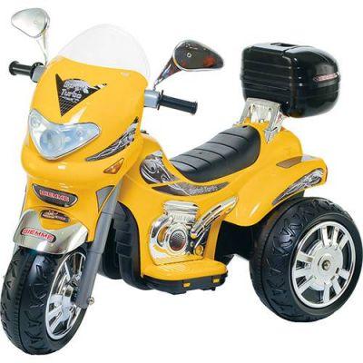 Moto Elétrica Infantil Sprint Turbo Amarelo 12V - Biemme