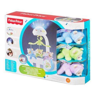 Super Móbile Ursinhos Fofinhos 3 em 1 Mattel