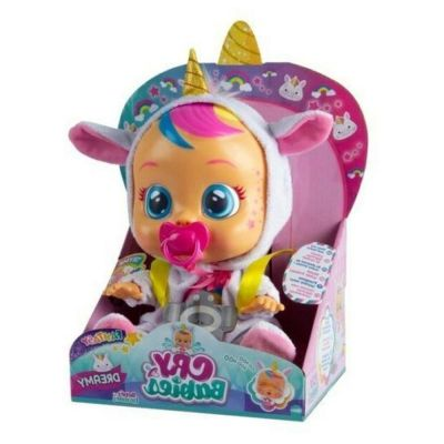 Boneca Cry Babies Dreamy com Chupeta Multikids BR1029