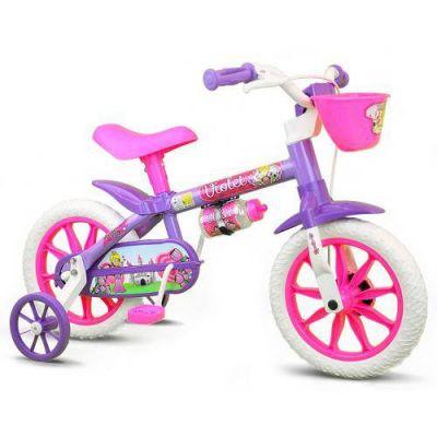 Bicicleta  Aro 12 - Violet Nathor