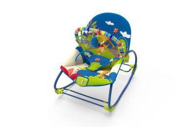 Cadeira Rocker 18kg Selva Azul 6922 - Mastela - Kd Bebê