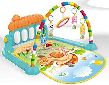 Tapete Estimulador De Bebê Musical Toca Piano BRQ-749 - Baby Toys