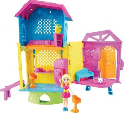Polly Pocket Casa Club Espaços Secretos GMF81 Mattel