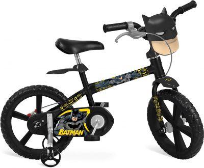 Bicicleta Aro 14 Batman - 3202 Bandeirante