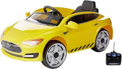 Carro Elétrico Sport 6V RC - Amarelo 933505 Bel Fix