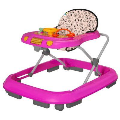 Andador Toy Rosa Safari - Tutti Baby