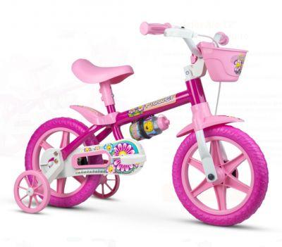 Bicicleta Aro 12 Flower 10 - Nathor