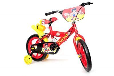 Bike Aro 14 Turma  Vermelha - Unitoys