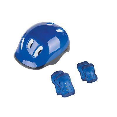 Kit Proteção com Joelheira e Cotoveleira Azul- Fenix