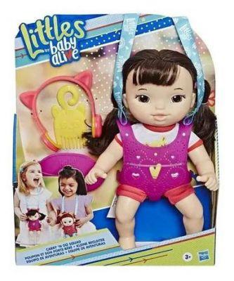 Baby Alive Little Turma Estilosa C/ Acessorio Asiatica E6646 - Hasbro
