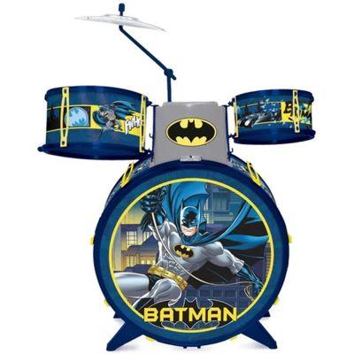 Bateria Batman Cavaleiro das Trevas Com Banquinho - Fun