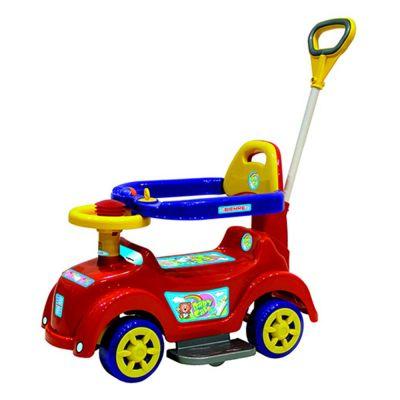 Andador com Empurrador Baby Car Vermelho 586 – Biemme