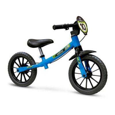 Bicicleta Balance Bike Azul 12